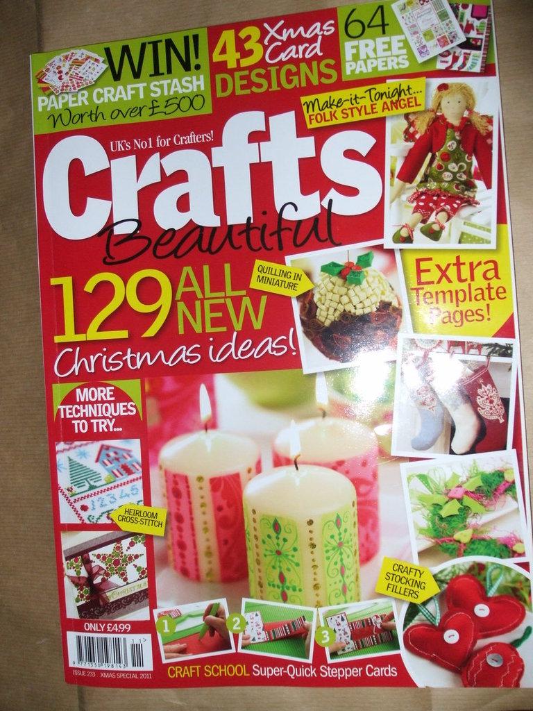 Rivista Crafts xmas 2011