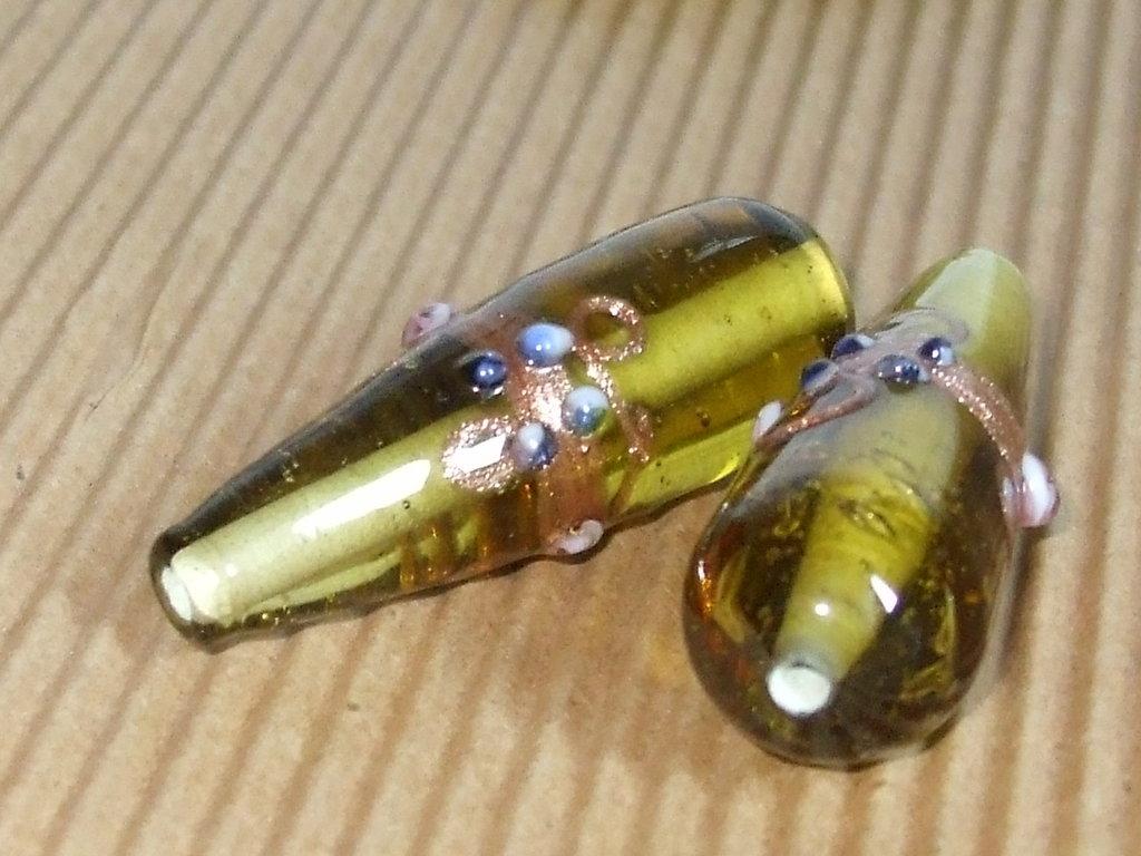 2 Maxi perle vetro veneziano vend.