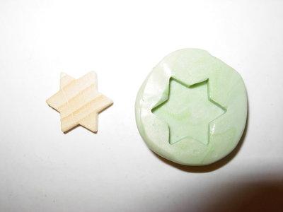 stampo stella 6 punte n.2