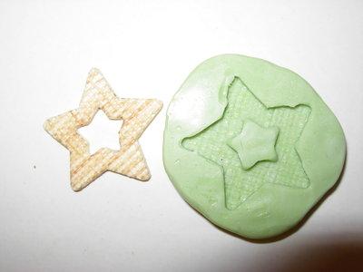 stampo stella texture