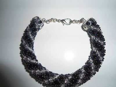 bracciale metal black