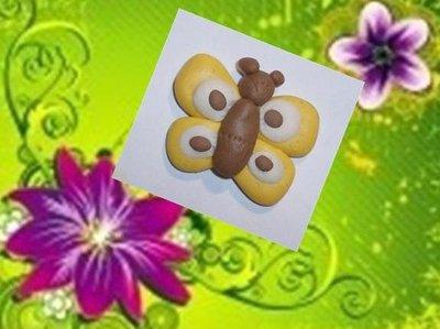 farfalla in fimo