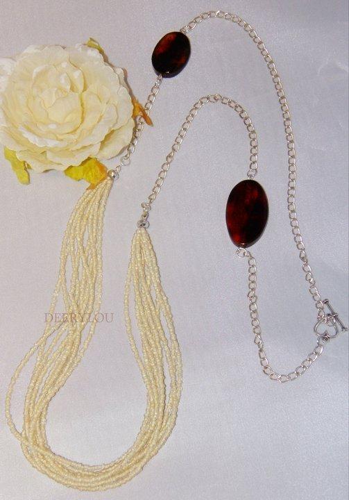 """Collana""""Vintage"""" Necklace,Handmade_Idea Regalo Natale"""