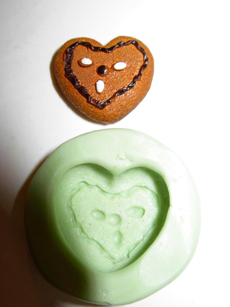 stampo cuore biscotto