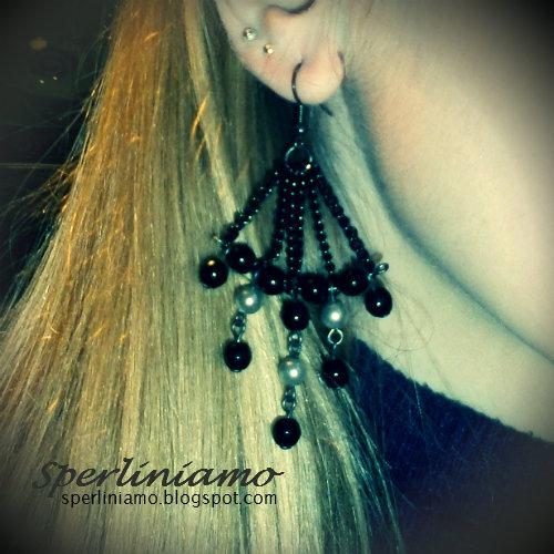 Modello Lampadario - orecchini