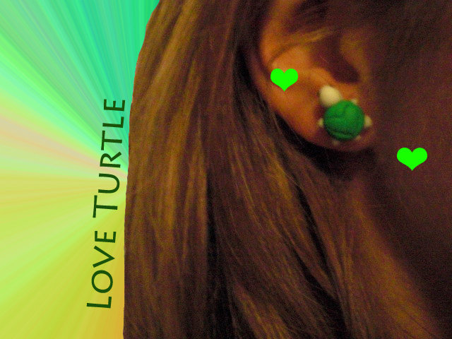 orecchini tartarughina idea regalo natale 2011