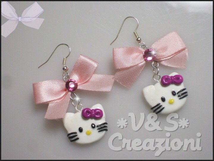 Orecchini Hello Kitty