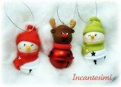 Ciondoli natalizi campanellini
