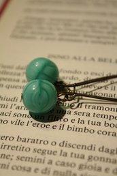 Bubble earrings - Oreccnini con perle in vetro