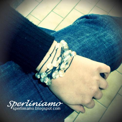 Trasparente - bracciale