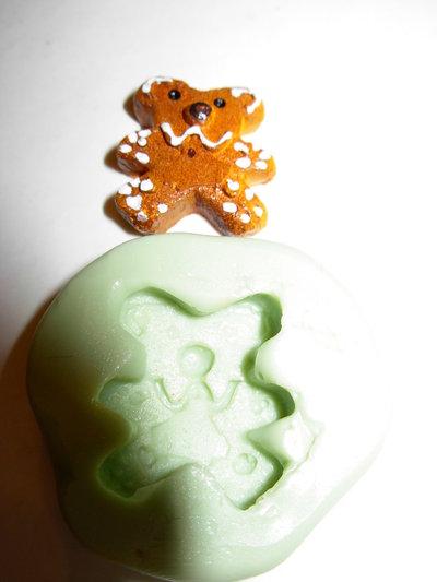 stampo biscottino orsetto