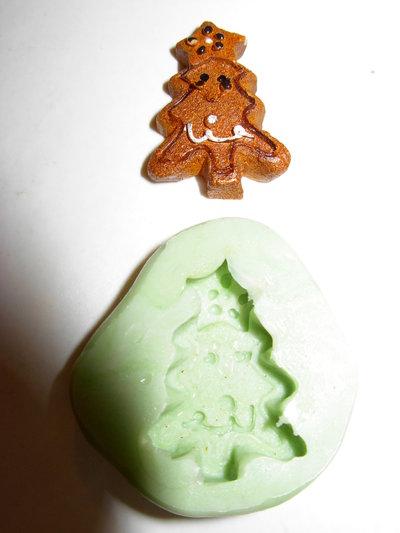 stampo biscottino albero di Natale