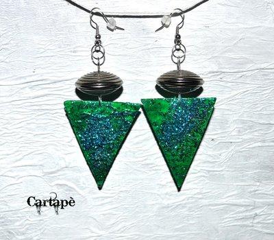 Orecchini glitter collection by Cartapè . .