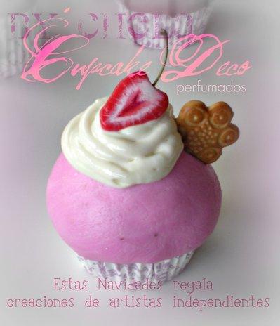 Fake Cupcake 100% artesanal
