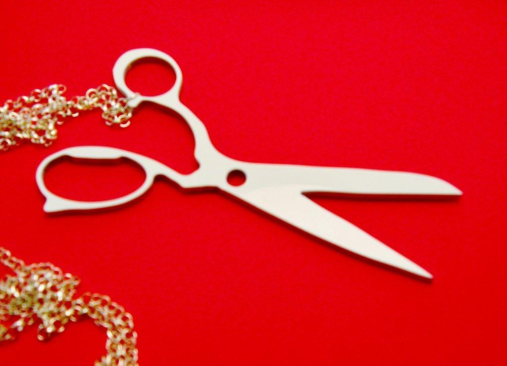 Collana Scissors - Guess Who?