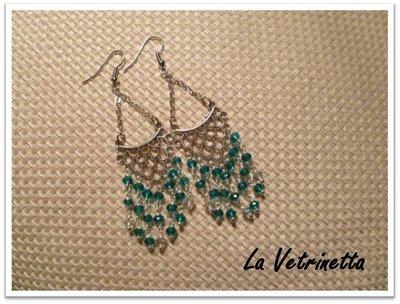 Orecchini smeraldo