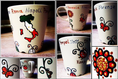 """Tazza """"Italia-viaggi"""""""