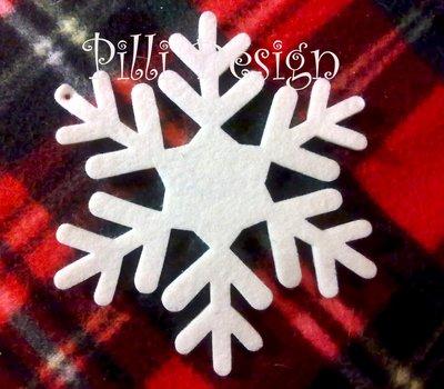 decorazioni natale fiocchi di neve