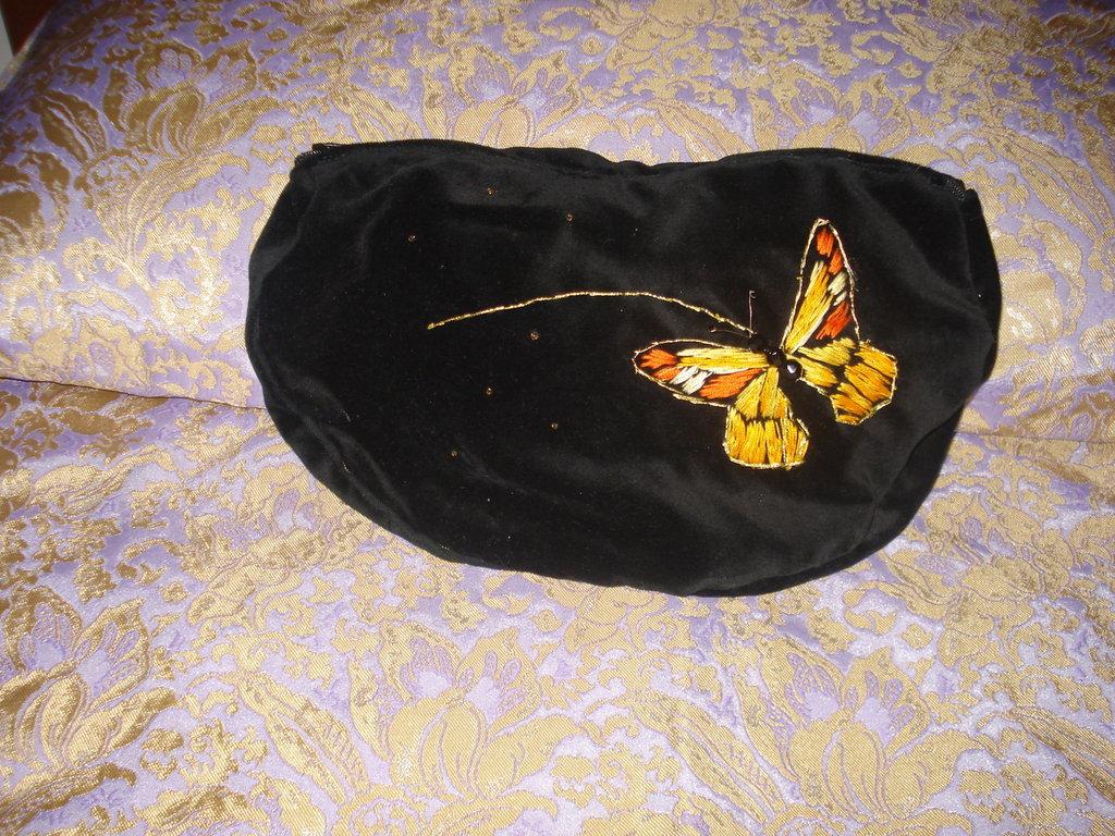 Borsetta con farfalla