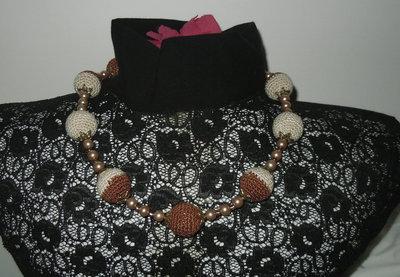 Collana crochet 2