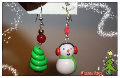 SALDI - Orecchini di Natale