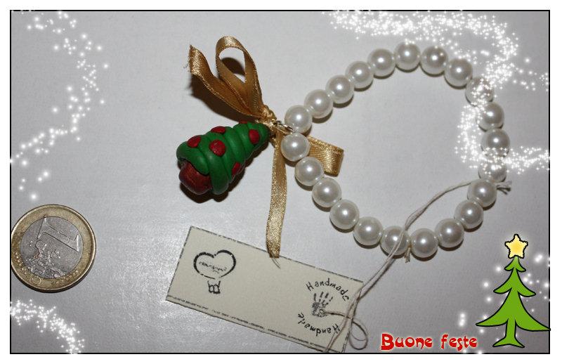 SALDI - Bracciale albero di Natale