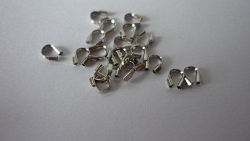 Salvafilo wire guardian ottone color platino