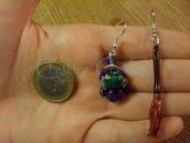 orecchini streghetta e scopa