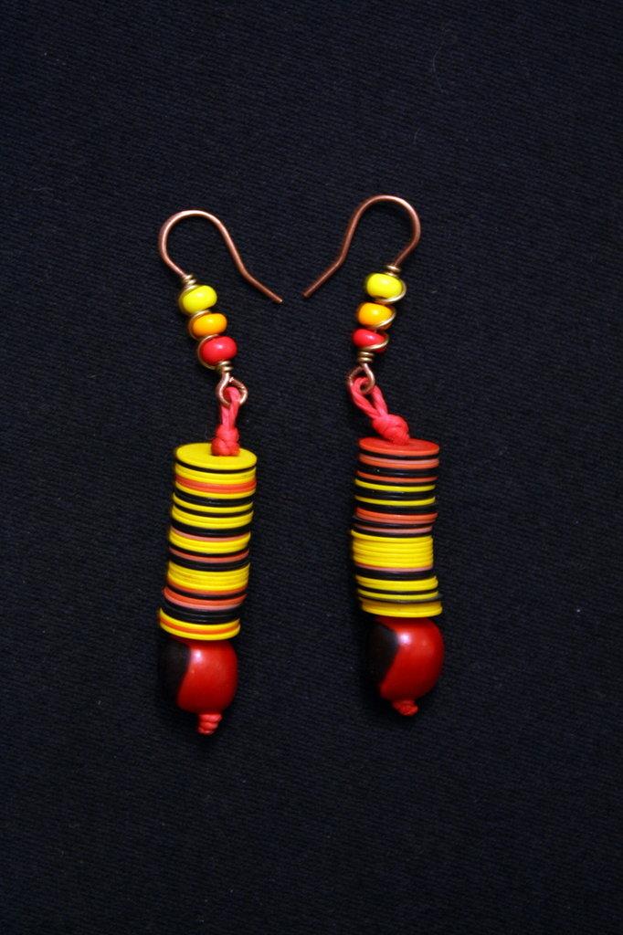 orecchini African style