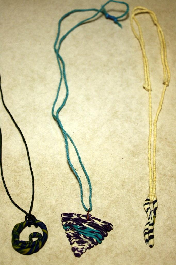 collane in pasta di fimo