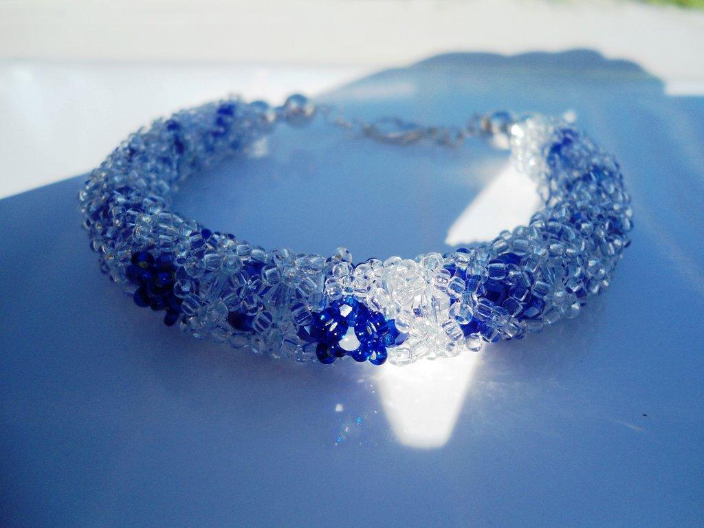 bracciale blu ice