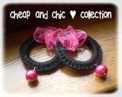 orecchini crochet