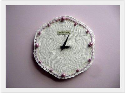 Orologio a Uncinetto
