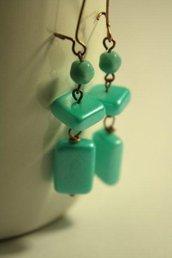 Tiffany Earrings - orecchini in vetro perlato