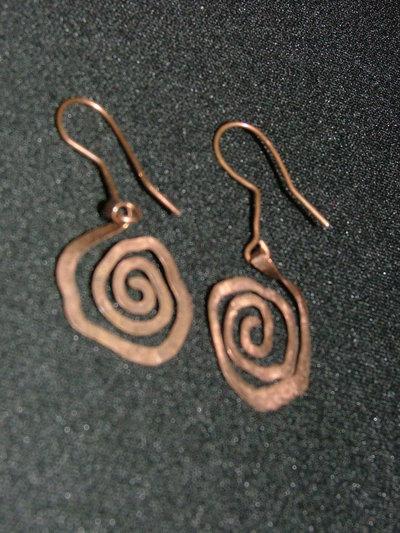 orecchini solo rame - diversi modelli