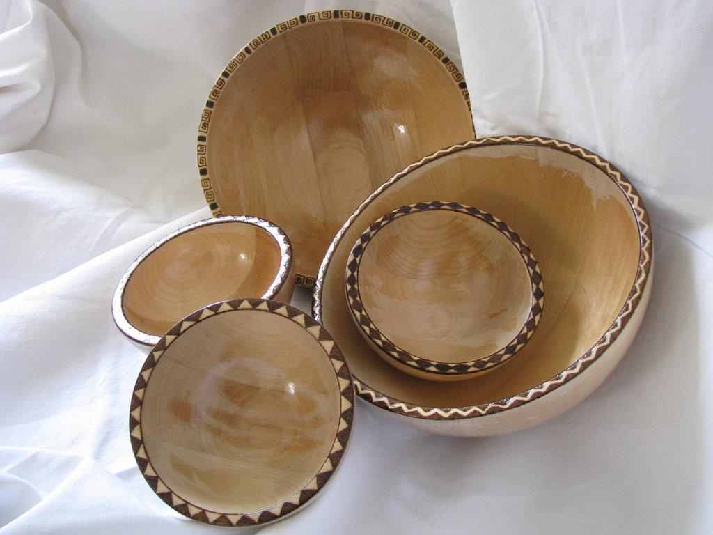 Ciotole in legno