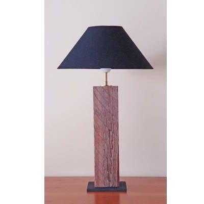 Luce da tavolo TRONC con bois flotté fatta a mano