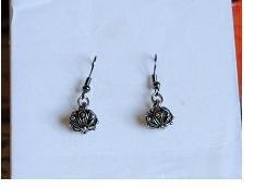 orecchini bottoni sardi