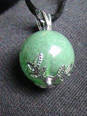 Ciondolo coccu verde