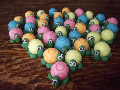 Tartarughe bambini giocattoli di le creazioni di for Oggetti per tartarughe