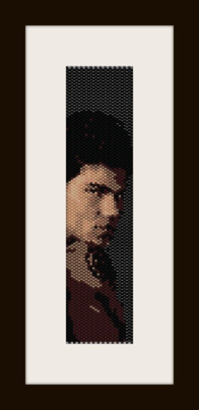 PDF schema bracciale jacob3 in stitch peyote pattern - solo per uso personale