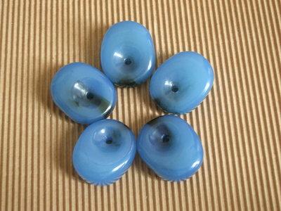 Lotto 5 perlone azzurre