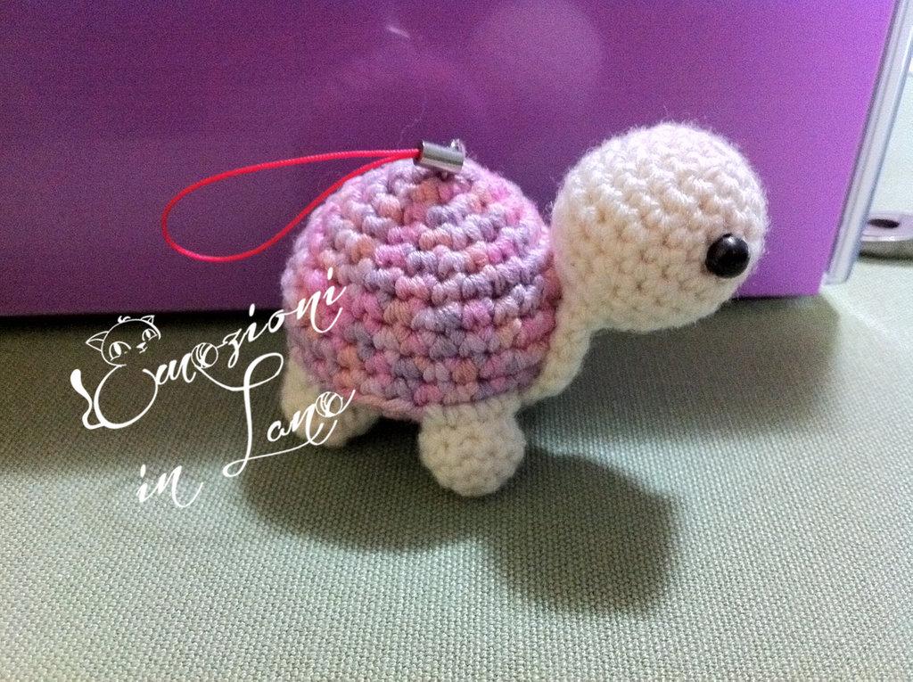 tartaruga all'uncinetto amigurumi - crochet amigurumi turtle