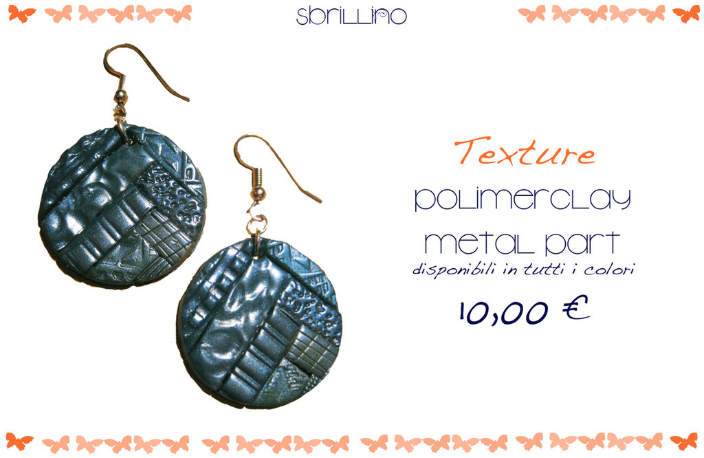 Texture earrings