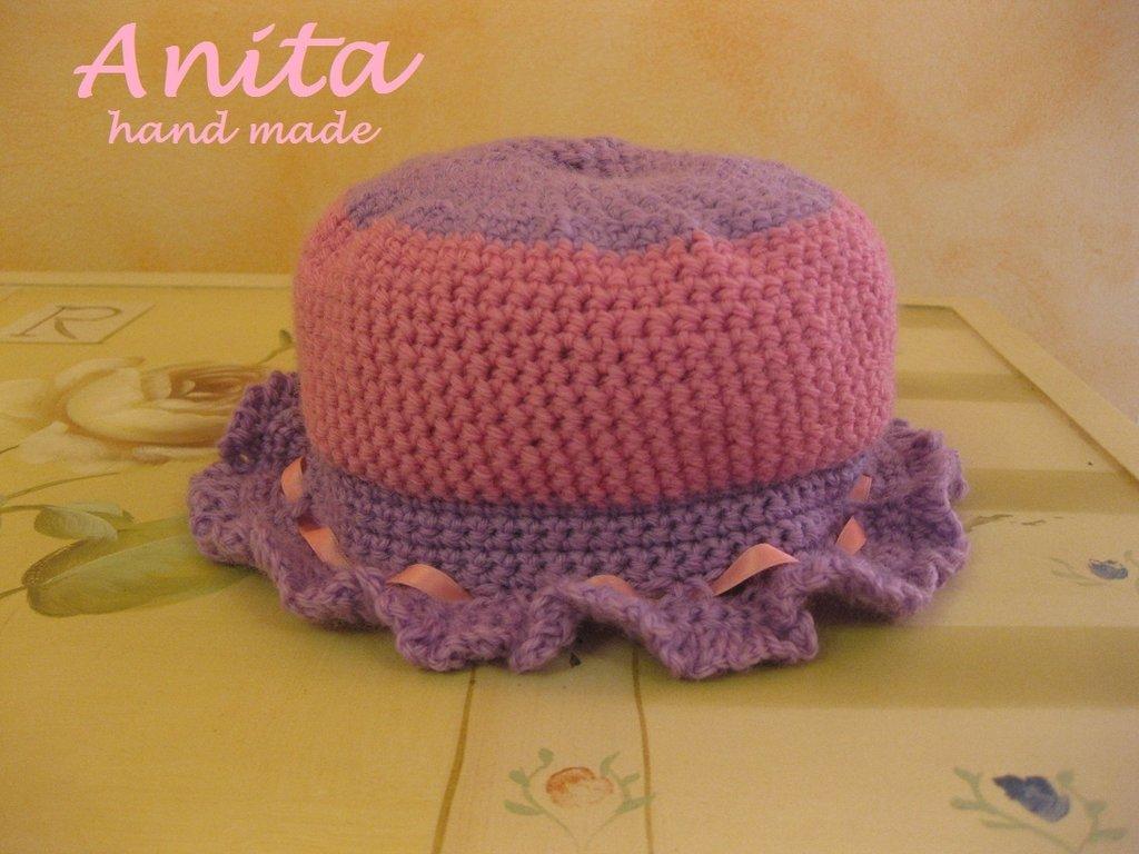 Cappellino bimba o neonata