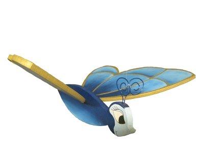 Farfalla blu da appendere