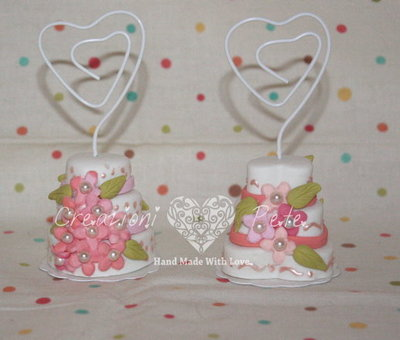 mini wedding cake segnaposto - torte nuziali segnaposto