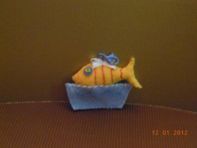 Pescetto portachiavi