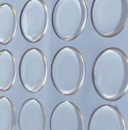Adesivo in resina per cabochon rotondo