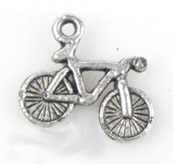 lotto 5 charms bicicletta 1,5 cm